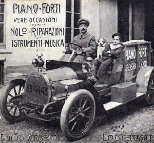 Emilio e Arnaldo Arosio 1913